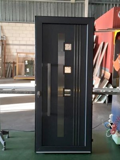 cambio puerta de entrada