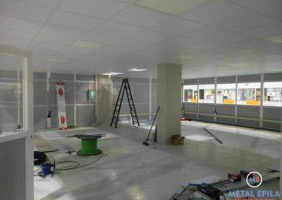 cerramientos obras oficina