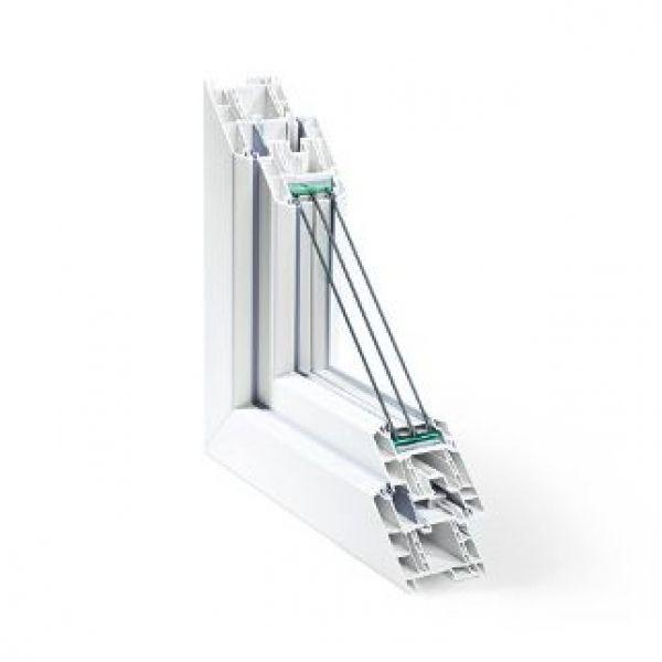 ventana pvc sistema geneo
