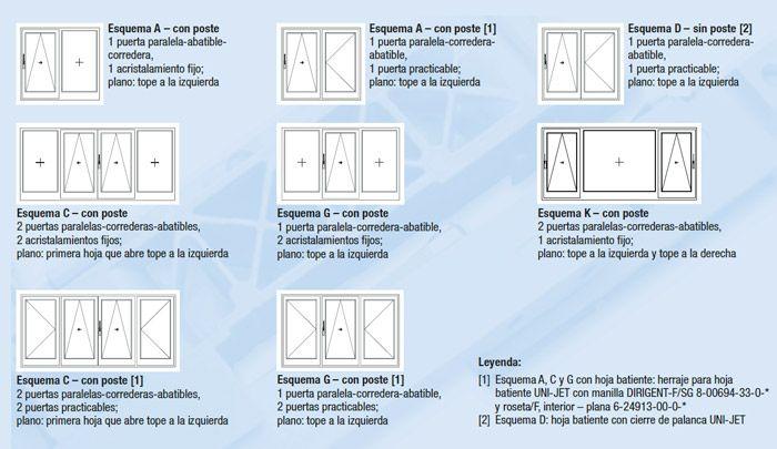 ventanas sistema oscilo paralela