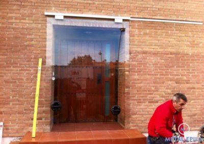 cambio puerta de vidrio