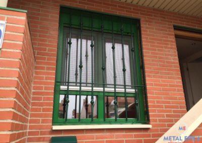 ventana pvc con mosquitera