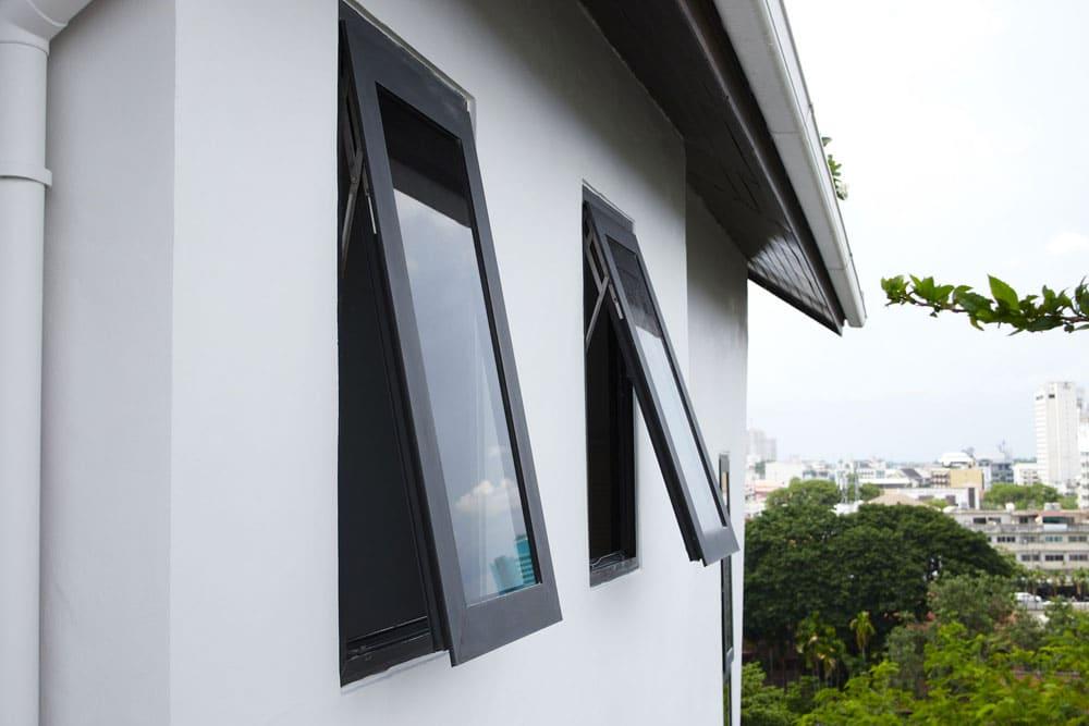 Acabados para ventanas de aluminio